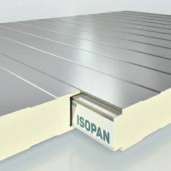 ISOPAN S.P.A. PANNELLO ISOBOX SP.80 RAL G-9010